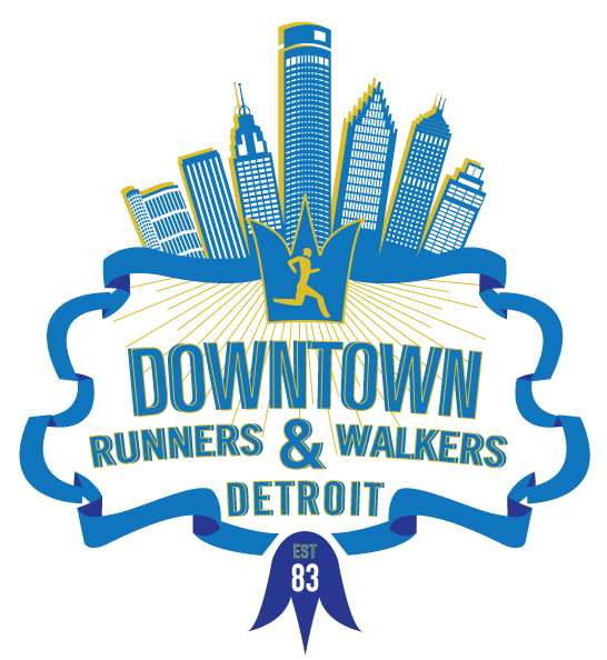 Detroit Downtown Runners and Walkers